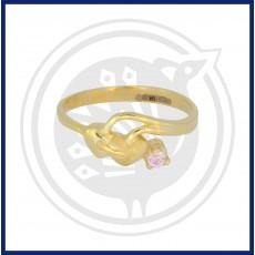 Fancy Double Heart-in Casting Ring
