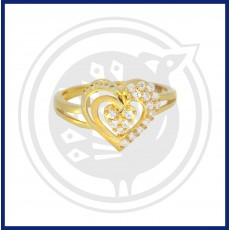Fancy Heart-in Ring