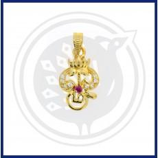 Casting Lotus OM Pendant