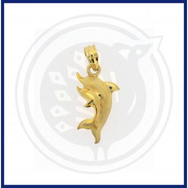 Casting Dolphin Pendant