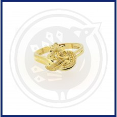 Casting Flower Gold Ring