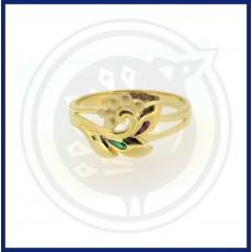 Casting Enamel Flower Ring