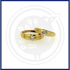 Casting Fancy Couple Ring