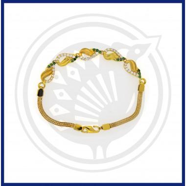 Casting Fancy Zircon Bracelet