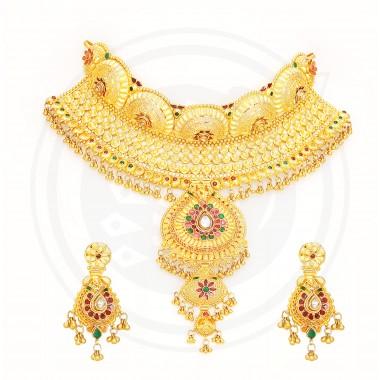 Bengal Choker Necklace Stud set