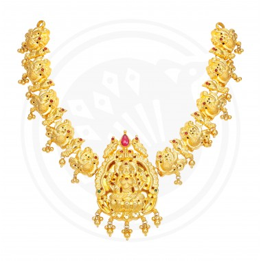 Nagas Lakshmi Necklace