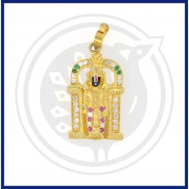 Casting Sri Balaji Pendant