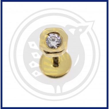 Fancy Diamond Nose Pin (18K)