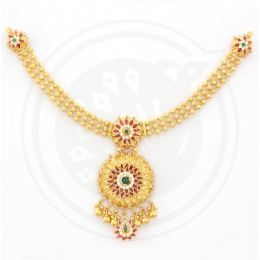 Pavanaa Fancy Designer YC U Necklace