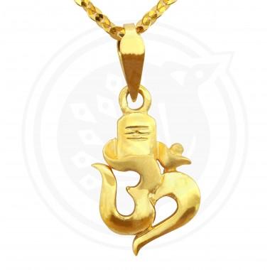 Divine Om Lingam Pendant