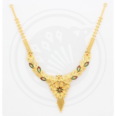 Fancy Bombay Necklace