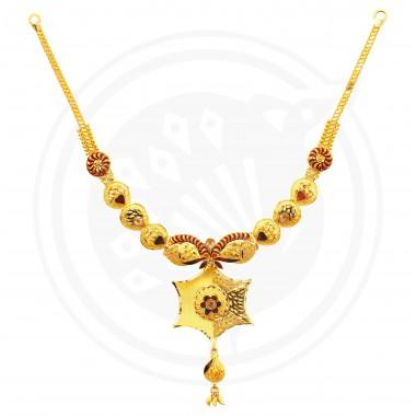 Fancy Bombay U Necklace