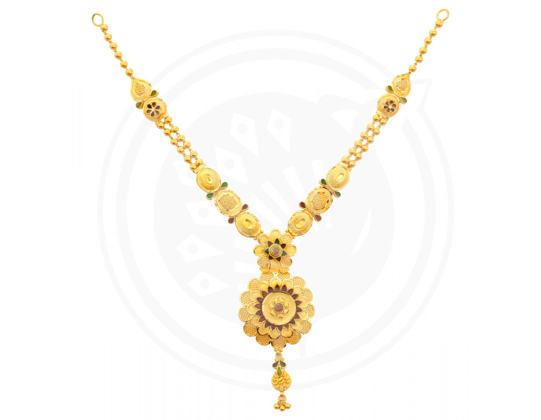 Gold simple necklace designs in 10 grams best necklace 2018 for Simple gold ornaments
