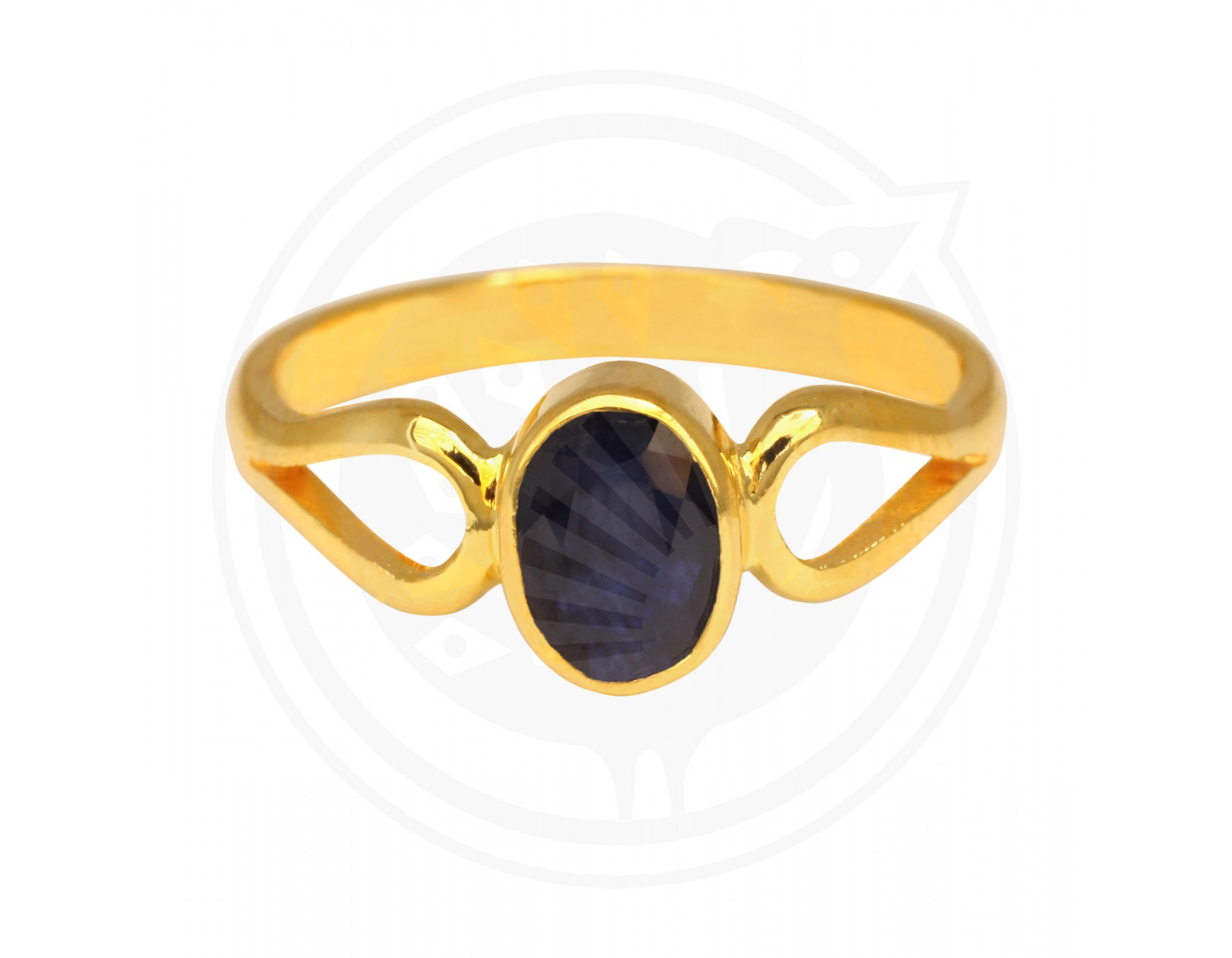 Sree Kumaran | Blue Sapphire Real Stone Ladies Ring