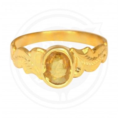 Komethagam Real Stone Gents Ring