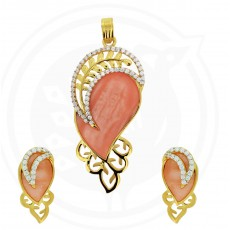Tanujaa Special Stone Pendant Stud