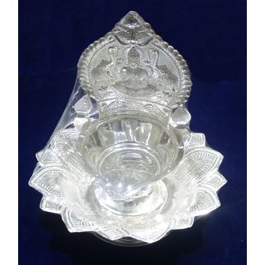 Kamatchi silver lamp